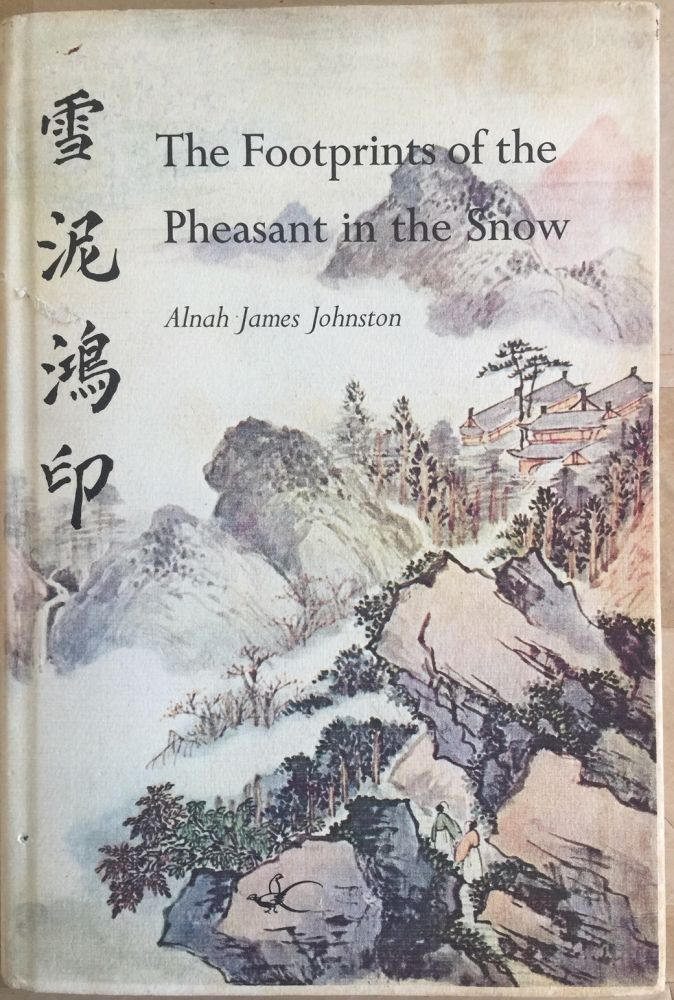 The footprints of the pheasant in the snow. Alnah James Johnston.