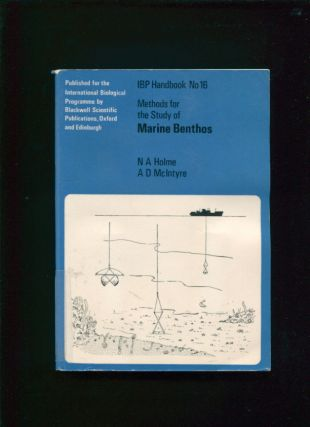 Methods for the study of marine benthos. N. A. Holme, A. D., McIntyre