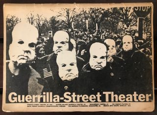 Guerrilla-street theater. Henry Lesnick