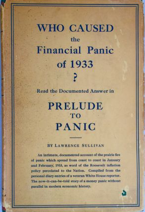 Prelude to panic; the story of the bank holiday